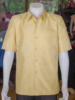 เสื้อสูทไหมแพรทอง ไซส์ S