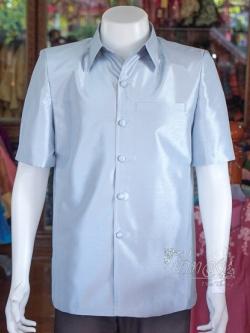 เสื้อสูทไหมแพรทอง ไซส์ XL