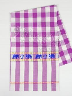ผ้าขาวม้าลายช้าง