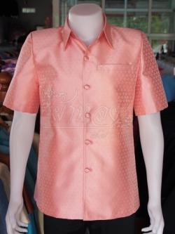 เสื้อสูทไหมลายไทย ไซส์ 2XL