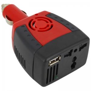 อินเวอร์เตอร์แปลงไฟรถ 12VDC เป็นไฟบ้าน 220VAC 150w