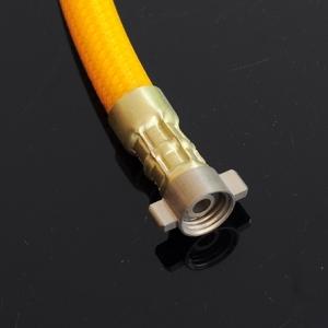 สายต่อออก สำหรับปั๊ม 12VDC ขนาด 1/4 เกลียวใน พร้อม เข็มขัดรัดสาย