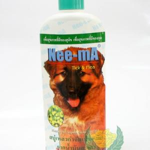 Nee-mA สบู่เหลวอาบน้ำสุนัขและสัตว์เลี้ยง ขนาด 350 ซีซี.
