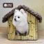 บ้านหมาแมว มีเบาะนุ่มข้างใน เหมาะสำหรับหน้าหนาว เนื้อผ้านุ่มสบาย thumbnail 2