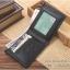 กระเป๋าสตางค์ผู้ชาย MS210 สีดำ thumbnail 5