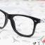 แว่นตาแฟชั่นเกาหลี ดำขาวลายจุด (ไม่มีเลนส์) thumbnail 2