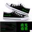 รองเท้าผ้าใบเรืองแสง BTS thumbnail 1