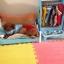 เฟอร์นิเจอร์ชุด สำหรับสัตว์เลี้ยงพันธุ์เล็ก เตียงนอน ชาม ตู้เสื้อผ้า thumbnail 3
