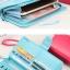 B-Smart wallet [แบบพับปิดกระดุม+มีซิปแยก] thumbnail 3