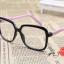 แว่นตาแฟชั่นเกาหลี ดำชมพู (พร้อมเลนส์) thumbnail 2