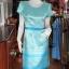 เดรสผ้าไหมลายไทย ไซส์ M thumbnail 1