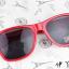แว่นตากันแดดแฟชั่นเกาหลี สีแดง thumbnail 2