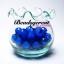 ลูกปัดสาคู 10มม. สีน้ำเงิน (15 กรัม) thumbnail 1