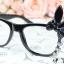 แว่นตาแฟชั่นเกาหลี กระต่ายดำ (ไม่มีเลนส์) thumbnail 1