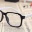 แว่นตาแฟชั่นเกาหลี กรอบดำขาว (ไม่มีเลนส์) thumbnail 2