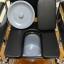 KC005 รถเข็นนั่งถ่าย ปรับนอนได้ พับได้ เหล็กชุบโครเมียม ยางตัน (ส่งฟรี) thumbnail 8