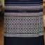 ผ้าถุงป้าย ผ้าทอลายชวนชม เอว 30 นิ้ว สีกรมท่า thumbnail 2