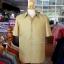 เสื้อสูทไหมผสมฝ้าย สีเขียวทอง ไซส์ XL thumbnail 1