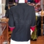 เสื้อคลุมผ้าฝ้ายสุโขทัยสีดำแต่งผ้าปักมือ ไซส์ L thumbnail 3