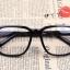 แว่นตาแฟชั่นเกาหลี กรอบดำมัน (ไม่มีเลนส์) thumbnail 2