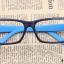 แว่นตาแฟชั่นเกาหลี สีดำฟ้า (ไม่มีเลนส์) thumbnail 1