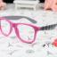 แว่นตาแฟชั่นเกาหลี หมากรุกชมพูเทา (ไม่มีเลนส์) thumbnail 1