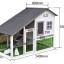 บ้านส่วนตัวของสัตว์เลี้ยงlสำเร็จรูป 2 ชั้น หลังคาจั่วสโลฟ มีใต้ถุน thumbnail 3