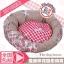 MU0134 ที่นอน เบาะนอนสำหรับสัตว์เลี้ยง เบาะนอนหมา แมว ตัวเบาะและเนื้อผ้านุ่มสบาย น่าสัมผัส ลายดอกไม้ thumbnail 1