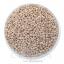 ลูกปัดเม็ดทราย 12/0 โทนมุกด้าน สีเนื้อ (100 กรัม) thumbnail 1