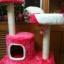MU0055 คอนโดแมวสามชั้น ต้นไม้แมว มีบ้านอุโมงค์ เปล ของเล่นแขวน สูง 105 cm thumbnail 7