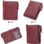 กระเป๋าสตางค์ผู้ชาย JB-004 [สีแดง มีซิป] thumbnail 2