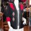 เสื้อคลุมผ้าฝ้ายสุโขทัยสีดำแต่งผ้าปักมือ ไซส์ L thumbnail 2