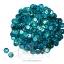 เลื่อมจานดิสโก้ 8มิล สีฟ้า (120 กรัม) thumbnail 1