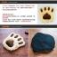 MU0017 เบาะนอนแมว Tada กำมะหยี่ น่ารักรูปร่างรอยเท้าการ์ตูน หนานุ่ม thumbnail 2