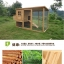 บ้านสัตว์เลี้ยง บ้านหมา บ้านแมว กระต่ายหนูไก่ นก อากาศถ่ายเทได้สะดวก มี 3 รุ่น สีไม้ธรรมชาติ thumbnail 3