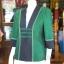 เสื้อคลุมผ้าฝ้ายสุโขทัยเดินเส้นไหม ไซส์ XL thumbnail 2