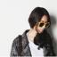 แว่นตากันแดดแฟชั่นเกาหลี สีเหลือง thumbnail 1