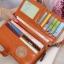 กระเป๋าสตางค์ Beauty Wallet [แบบพับครึ่งปิดกระดุม+มีซิป] thumbnail 3