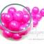 ลูกปัดมุกพลาสติก 16มิล สีชมพูเข้ม (120 กรัม) thumbnail 1