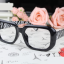 แว่นตาแฟชั่นเกาหลี กรอบดำม้าลาย (ไม่มีเลนส์) thumbnail 2