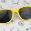 แว่นตากันแดดแฟชั่นเกาหลี สีเหลือง thumbnail 2
