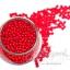 ลูกปัดมุกพลาสติก 4มิล สีแดง (450 กรัม) thumbnail 1