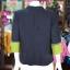เสื้อคลุมผ้าฝ้ายสุโขทัยสีดำแต่งผ้าปักมือ ไซส์ M thumbnail 3