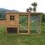 บ้านสัตว์เลี้ยง บ้านหมา บ้านแมว กระต่ายหนูไก่ นก อากาศถ่ายเทได้สะดวก มี 3 รุ่น สีไม้ธรรมชาติ thumbnail 1