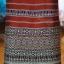 ผ้าซิ่นทอลายจกนกคู่ สีน้ำตาลแดง thumbnail 2