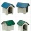 บ้านพลาสติกสัตว์เลี้ยง หมาแมว ตั้งไว้กลางแจ้งได้ ระบายอากาศปลอดโปร่ง thumbnail 2