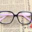 แว่นตาแฟชั่นเกาหลี ดำชมพู (พร้อมเลนส์) thumbnail 1