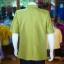 เสื้อสูทไหมแพรทองคอพระราชทาน ไซส์ 2XL thumbnail 3
