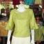 เสื้อผ้าไหมญี่ปุ่น ปักมุกระย้า ไซส์ XL thumbnail 1