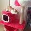 MU0055 คอนโดแมวสามชั้น ต้นไม้แมว มีบ้านอุโมงค์ เปล ของเล่นแขวน สูง 105 cm thumbnail 16